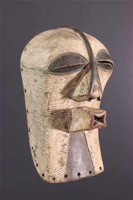 African art - Luba Kifwebe Kikashi mask