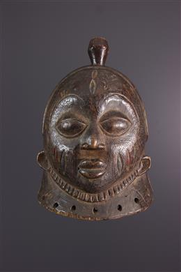 African art - Gelede Yoruba crest mask
