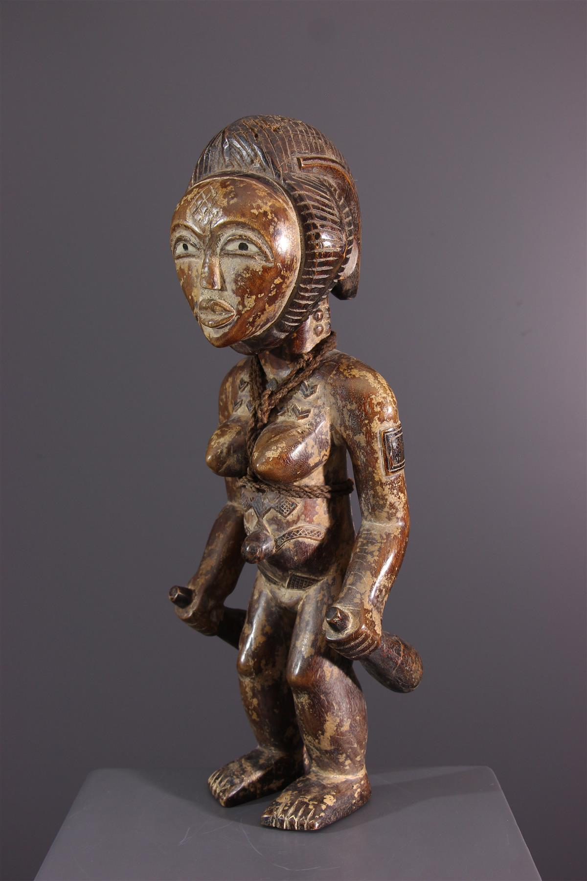 Punu statue - African art