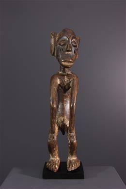 African art - Mbole Ofika statue of hanged man