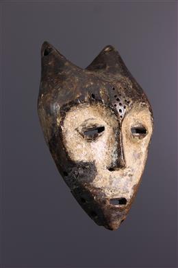 African art - Lega Kayamba small mask