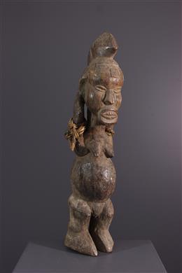 African art - Lari / Teke fertility pattern