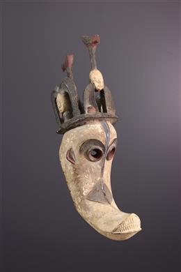 African art - Igbo Mgbedike mask
