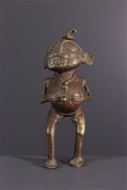 African art - Tikar bronze fetish