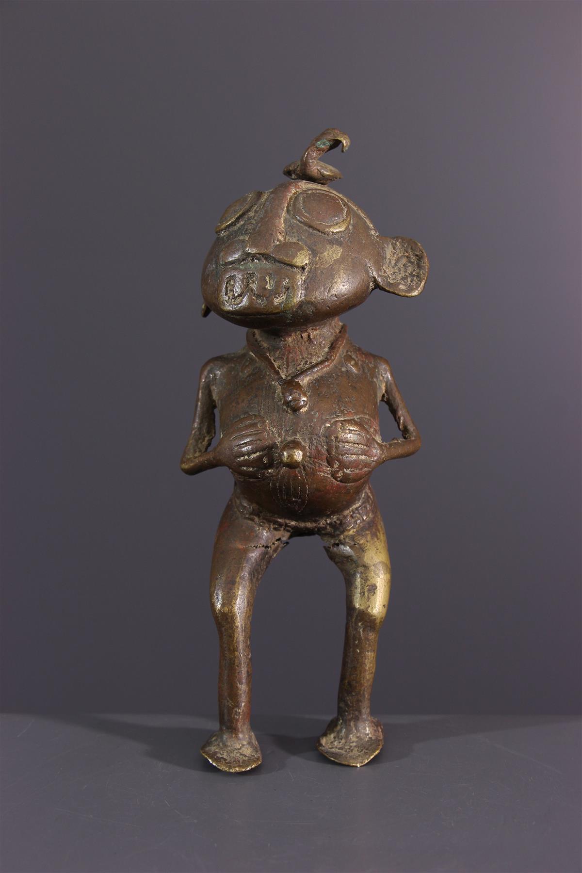 Tikar bronze  - African art