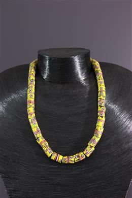 African art - Murano pearl necklace