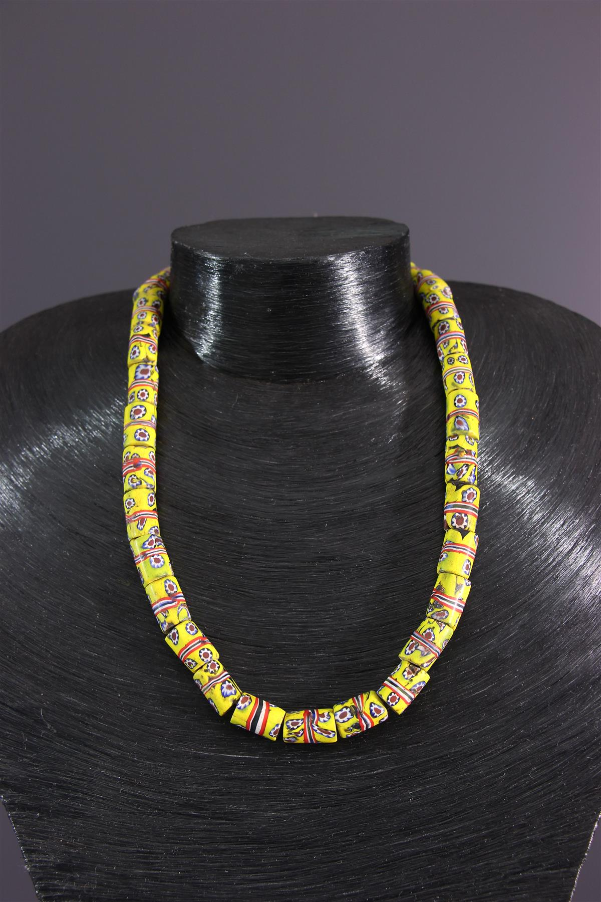 African necklace - African art
