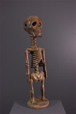 African art - Songye skeleton figure