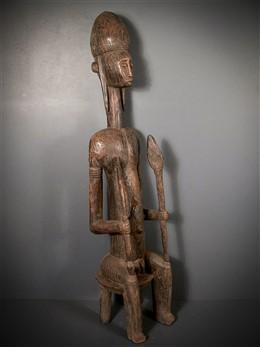 Bambara King Statue