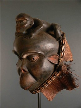 African art - Bulu ceremonial mask