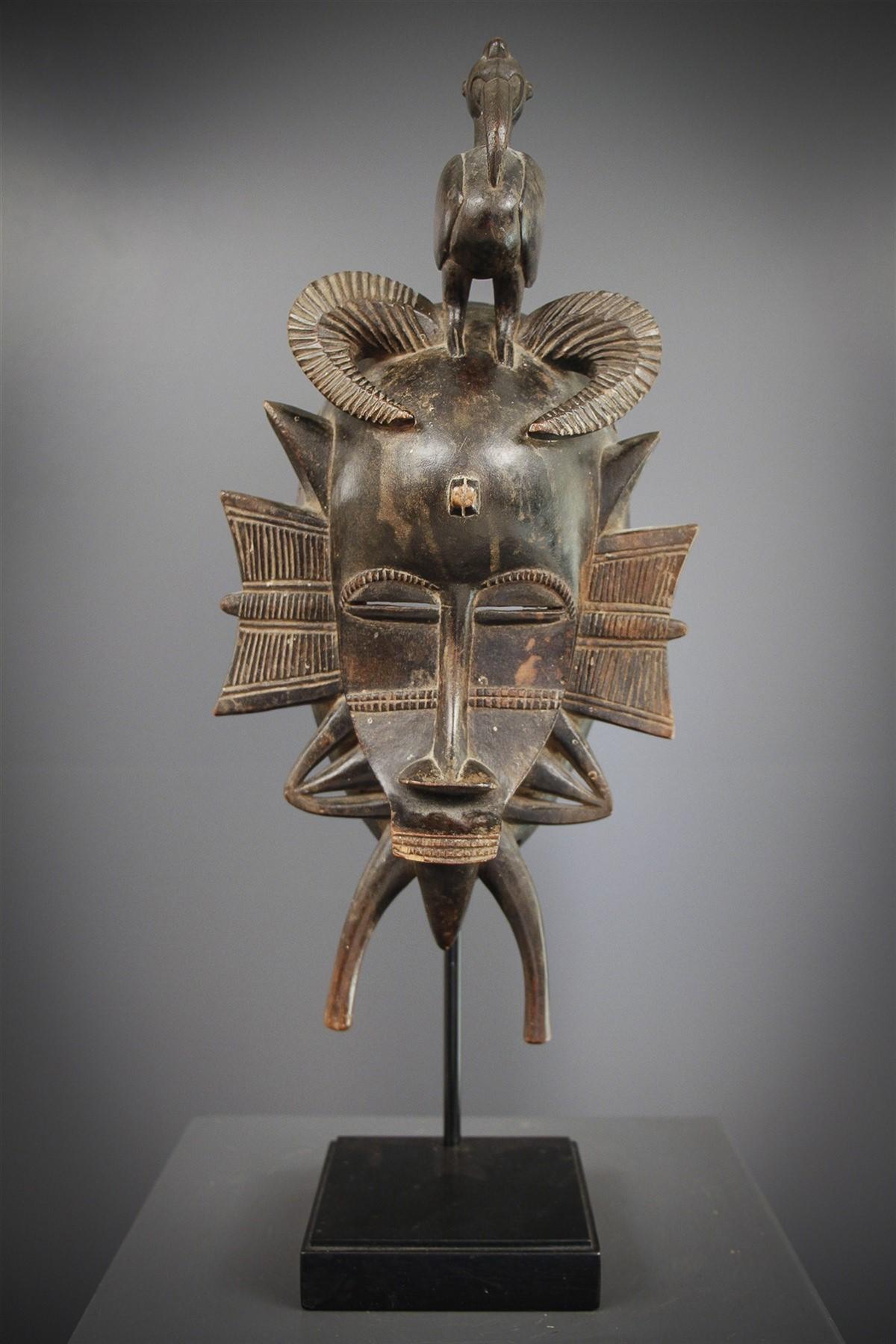 Senoufo Kpelie Mask - African art