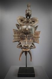 Masque africainSenoufo Kpelie Mask
