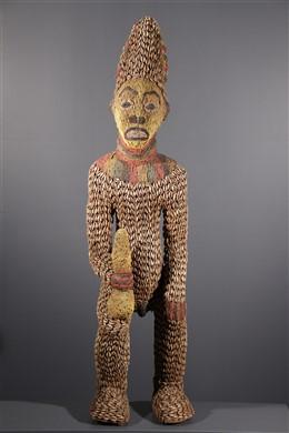 Bangwa Beaded Statue