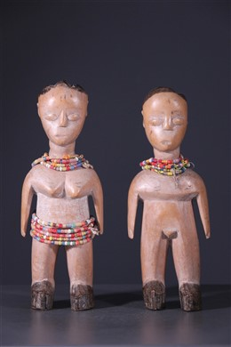 African art - Couple of twins Ewe Venavi
