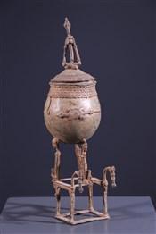 Pots, à divination, oracles, remèdes, onguentsDogon ointment pot
